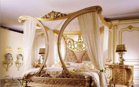 تزیین اتاق خواب عروس با گل,تزئین اتاق عروس,تزیین جهیزیه عروس