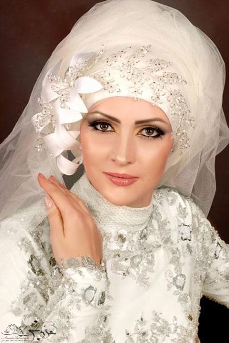 تور عروس محجبه و باحجاب95
