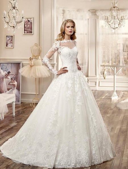 مدل های لباس عروس2018