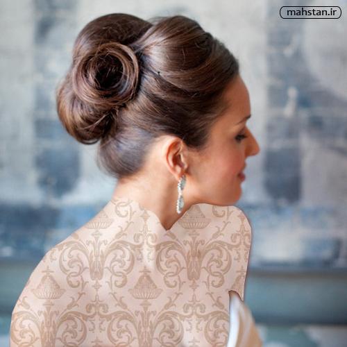 مدل مو عروس اروپایی 2015