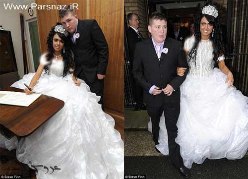 عروسی مجلل عروس خانم 16 ساله در انگلستان + تصاویر