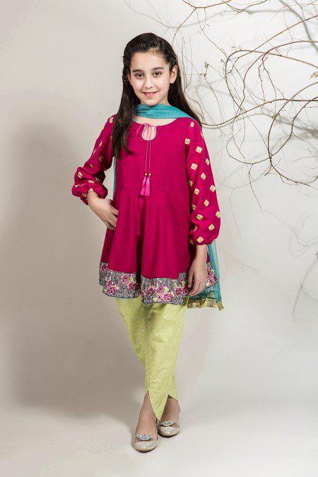 لباس مجلسی دخترانه, مدل لباس دخترانه پاکستانی
