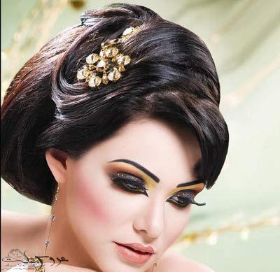 مدل مو و آرایش عروس ایرانی2017