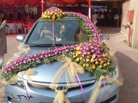 ساده ترین مدل ماشین عروس, تزیین تجملی ماشین عروس