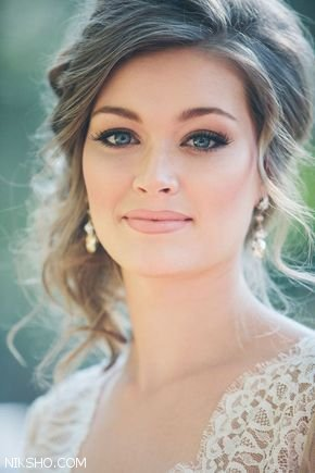 مدل آرایش عروس2018
