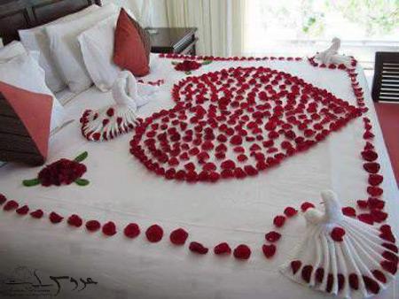 تزئین اتاق خواب عروس و داماد,تزیین اتاق خواب عروس,جهیزیه عروس