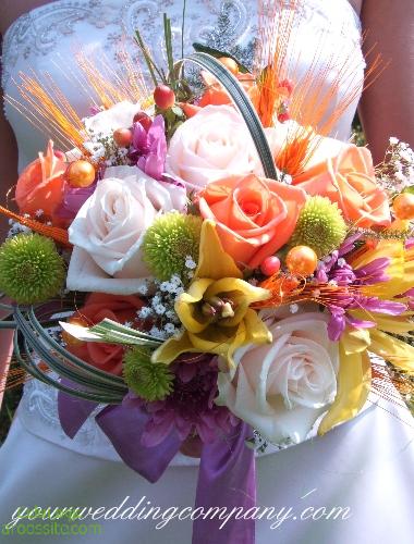 دسته گل عروس جدید و شیک+دسته گل عروس زیبا 2014+دسته گل خواستگاری 2014 +سبد گل نامزدی 2014 | aroossite.com