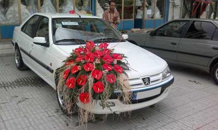 گل کاری ماشین عروس, جدیدترین مدل ماشین عروس