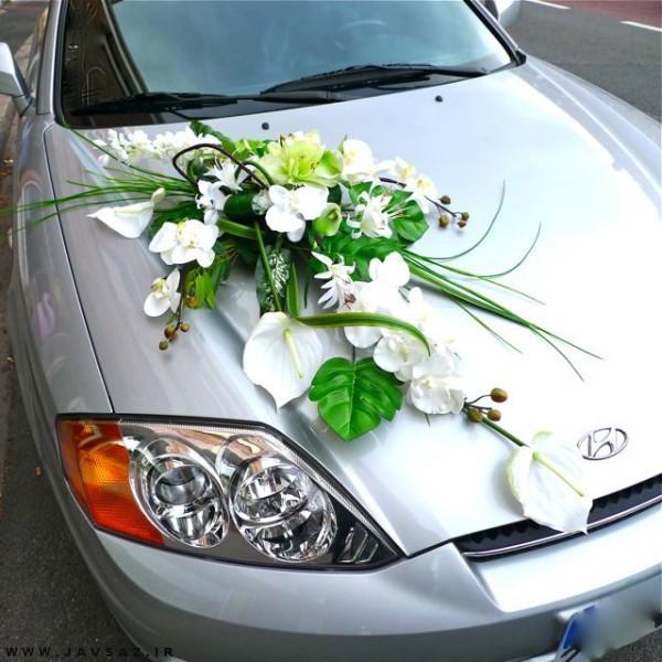 تزیین ماشین عروس مد سال ۱۳۹۶