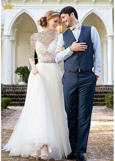 عکس ژست عروس و داماد مخصوص عکس آتلیه ای