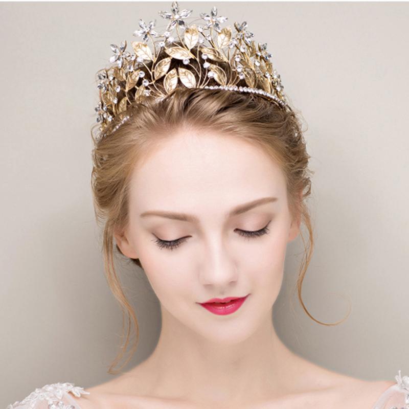 مدل تاج عروس طلا