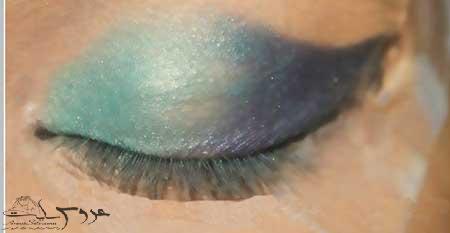 آرایش چشم عروس پاکستانی